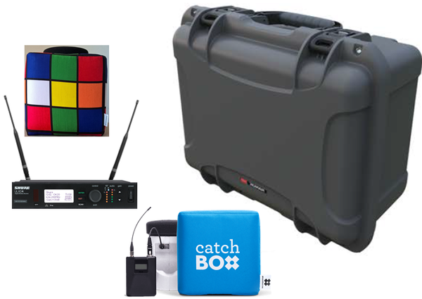 Catchbox Audience Microphone Wireless System Packages