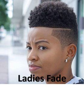 Ladies Fade Haircut - Ladies Haircuts - The Fade Factory Plus