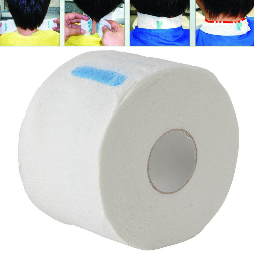 Professional Stretchy Disposable Neck Paper Roll for Barber Salon Hairdressing Hair Styling Tools - The Fade Factory Plus