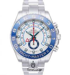 Replica Rolex Yacht-Master II SS Blue Ceramic Bezel 44mm - TimeLux - Replica Watches Greece