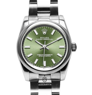 Replica Rolex Datejust 36mm Oyster Bezel Olive Dial - TimeLux - Replica Watches Greece