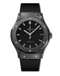 Replica Hublot Classic Fusion SS Black Dial 42mm - TimeLux - Replica Watches Greece