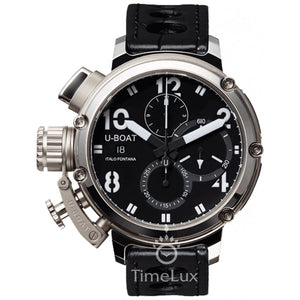 Replica U-BOAT Chimera 46mm Limited Edition Black Dial - TimeLux - Replica Watches Greece