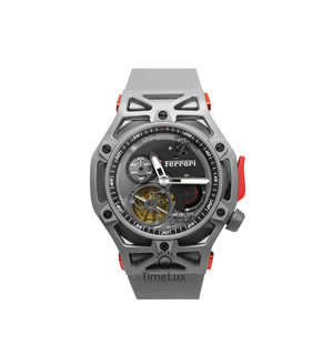 Replica Hublot Techframe Ferrari Turbilion Chronograph Gray - TimeLux - Replica Watches Greece