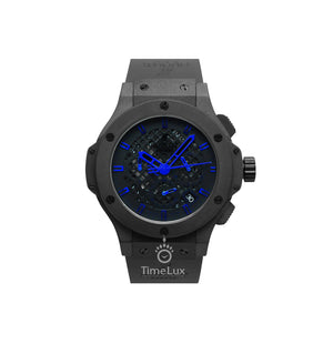Replica Hublot Big Bang Classic Fusion Black Blue Stickers - TimeLux - Replica Watches Greece