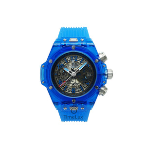 Replica Hublot Unico Saphire Blue - TimeLux - Replica Watches Greece