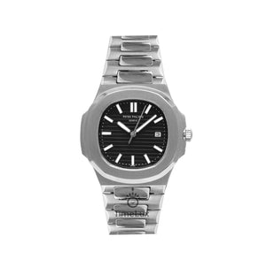 Replica Patek Philippe Nautilus Silver Bracelet - TimeLux - Replica Watches Greece