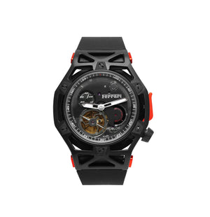 Replica Hublot Techframe Ferrari Turbilion Chronograph Black - TimeLux - Replica Watches Greece