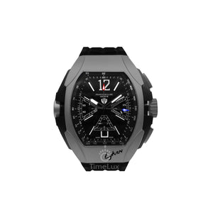 Replica Franck Muller Gray Case Black Rubber Chronograph - TimeLux - Replica Watches Greece