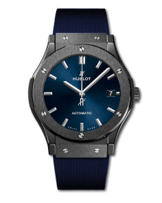 Replica Hublot Classic Fusion SS Blue Dial 42mm - TimeLux - Replica Watches Greece
