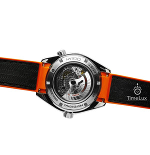 Replica Omega Co-axial Seamaster CHRONOMETER 43.5 mm Orange Bezel - TimeLux - Replica Watches Greece