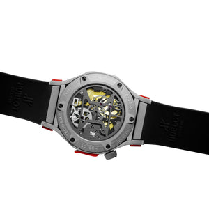 Replica Hublot Techframe Ferrari Turbilion Chronograph Silver - TimeLux - Replica Watches Greece