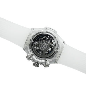 Replica Hublot Unico Saphire White - TimeLux - Replica Watches Greece