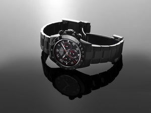 Replica Rolex Cosmograph Daytona DLC Black/Red Dial - TimeLux - Replica Watches Greece