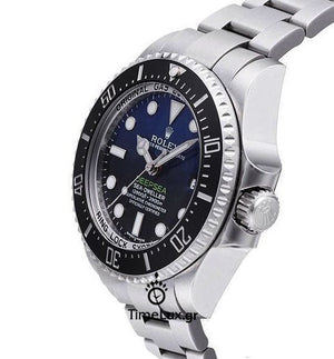 Replica Rolex Sea-Dweller Deepsea D-Blue Dial Ceramic - TimeLux - Replica Watches Greece
