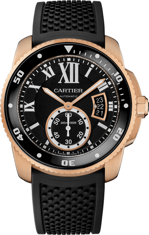 Replica Cartier, Calibre De Cartier Diver Black Watch - TimeLux - Replica Watches Greece