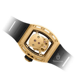Replica Richard Mille RM-052 Gold Case Gold Skull Turbillon - TimeLux - Replica Watches Greece