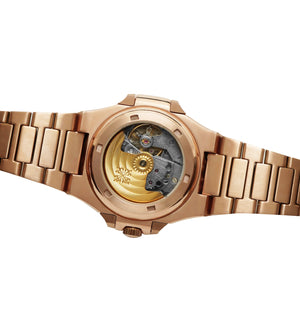Replica Patek Philippe Nautilus Rose Gold Bracelet - TimeLux - Replica Watches Greece