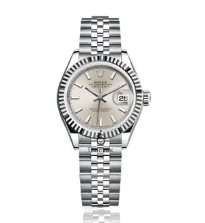 Rolex Datejust Lady 28mm Silver Dial Stick Markers, Ρολόι χειρός/Wristwatch, Rolex, TimeLux - Replica Watches Greece
