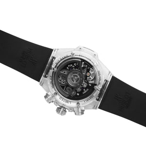 Replica Hublot Unico Saphire White/Black - TimeLux - Replica Watches Greece