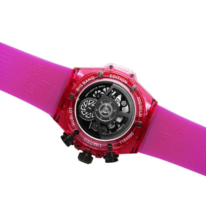 Replica Hublot Unico Saphire Fuchsia - TimeLux - Replica Watches Greece