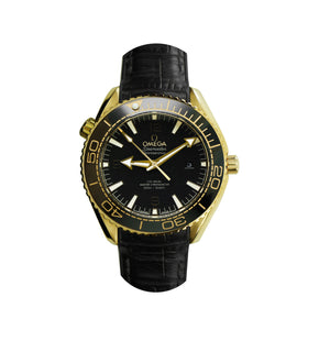 Replica Omega Co-axial Seamaster CHRONOMETER 43.5 mm Black Bezel - TimeLux - Replica Watches Greece