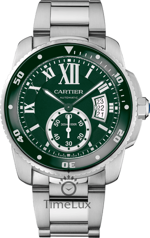 Replica Cartier, Caliber De Cartier Watch Green Dial - TimeLux - Replica Watches Greece