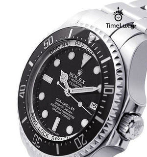 Replica Rolex Sea-Dweller Deepsea Ceramic Bezel - TimeLux - Replica Watches Greece
