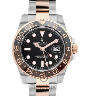 Replica Rolex GMT-Master II 2-Tone Rose Gold 2018 - TimeLux - Replica Watches Greece