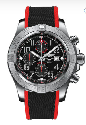 Replica Breitlight® Super Avenger II  Hurricane Volcano Black - TimeLux - Replica Watches Greece