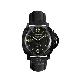 Replica Panerai Luminor GMT 10 Days Black Dial - TimeLux - Replica Watches Greece