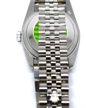 Replica Rolex Datejust Jubilee 36mm Silver Dial Diamond Markers - TimeLux - Replica Watches Greece