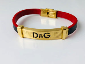 Replica Dolce & Gabbana Braclet Leather Strap - TimeLux - Replica Watches Greece