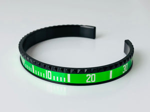 Replica Rolex Bracelet Submainer Black/Green - TimeLux - Replica Watches Greece
