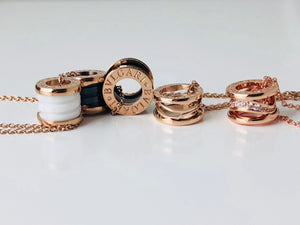 Replica Βvlgari Necklaces Rose Gold - TimeLux - Replica Watches Greece