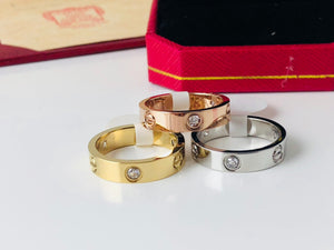 Replica Cartier Love Ring Diamonds - TimeLux - Replica Watches Greece