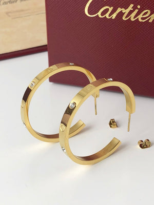 Replica Cartier Love Earrings - TimeLux - Replica Watches Greece