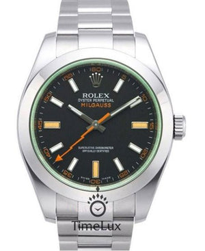 Replica Rolex Milgauss Black Dial Anniversary Model - TimeLux - Replica Watches Greece