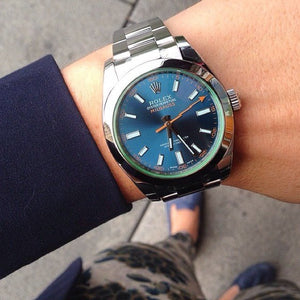 Replica Rolex Milgauss Blue Dial - TimeLux - Replica Watches Greece
