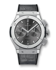 Replica Hublot Classic Fusion SS Gray Dial 42mm Chronograph - TimeLux - Replica Watches Greece