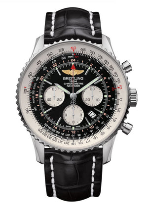 Replica Breitlight® Navitimer 01 Leather Strap - TimeLux - Replica Watches Greece