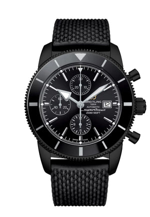 Replica Breitlight® Super Ocean Heritage Black Chronograph - TimeLux - Replica Watches Greece