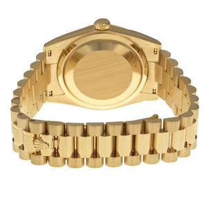 Replica Rolex Datejust 31mm Gold Fluted Bezel Diamond Markers - TimeLux - Replica Watches Greece