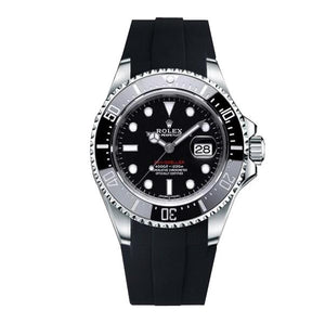 Replica Rolex Sea-Dweller 50th Anniversary Model 43.5mm Strap Rubber B - TimeLux - Replica Watches Greece
