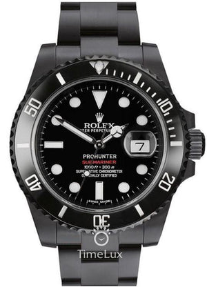 Replica Rolex Stealth Submariner Pro Hunter - TimeLux - Replica Watches Greece