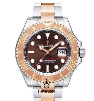 Replica Rolex Yacht-Master 40mm 2-Tone Bronze - TimeLux - Replica Watches Greece