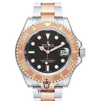 Replica Rolex Yacht-Master 40mm 2-Tone Bronze Gray Dial - TimeLux - Replica Watches Greece