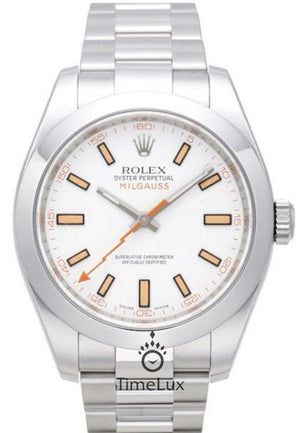Replica Rolex Milgauss White Dial Anniversary Model - TimeLux - Replica Watches Greece