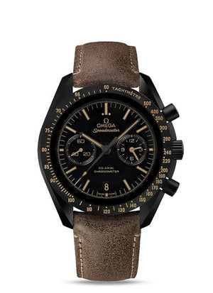 "Replica Omega Moonwatch Omega Co-Axial Chronograph ""Vintage Black"" 44.25 mm - TimeLux - Replica Watches Greece"