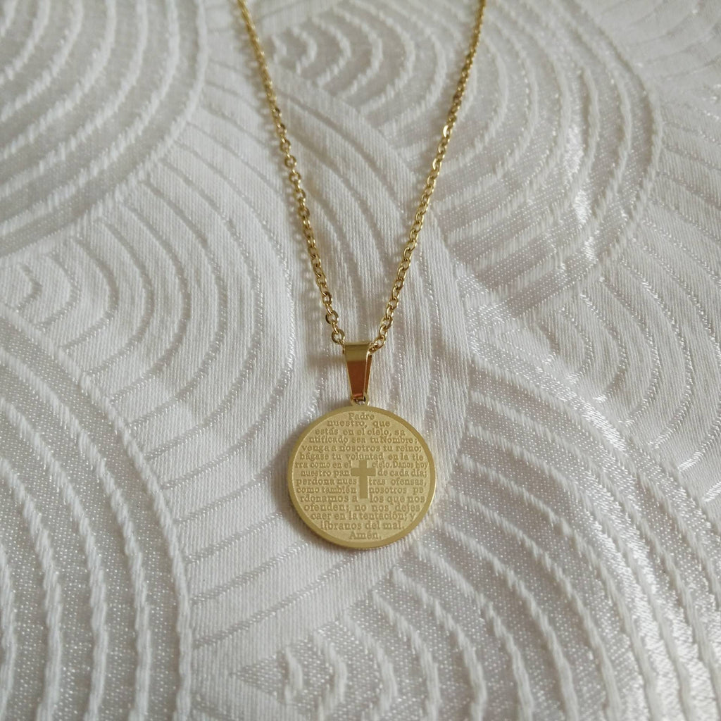 stainless-steel-necklace, gold-plated-necklace, stainless-steel-jewelry